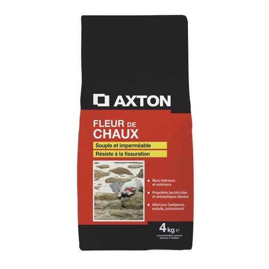 chaux blanche ce axton 4 kg leroy merlin. Black Bedroom Furniture Sets. Home Design Ideas