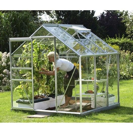 serre de jardin en verre horticole venus 3800 m. Black Bedroom Furniture Sets. Home Design Ideas