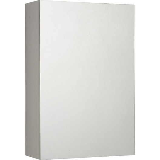 armoire de toilette cm blanc porte miroir modulo. Black Bedroom Furniture Sets. Home Design Ideas