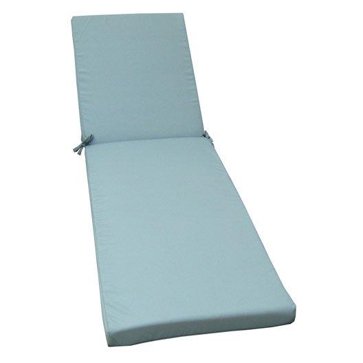 coussin de bain de soleil bleu lola leroy merlin. Black Bedroom Furniture Sets. Home Design Ideas