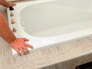 comment installer une baignoire leroy merlin. Black Bedroom Furniture Sets. Home Design Ideas