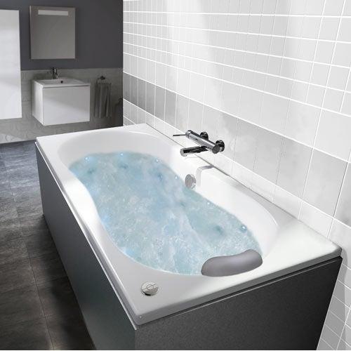 Baignoire baln o spa et sauna salle de bains leroy merlin - Spa baignoire balneo ...