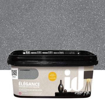 peinture effet paillet peinture effet au meilleur prix leroy merlin. Black Bedroom Furniture Sets. Home Design Ideas