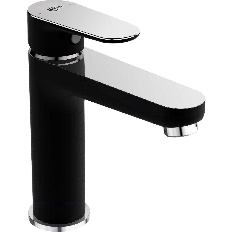 Mitigeur de lavabo noir mat, IDEAL STANDARD Tyria