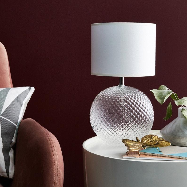 Pied De Lampe Calexico Acrylique Transparent 25 Cm Inspire