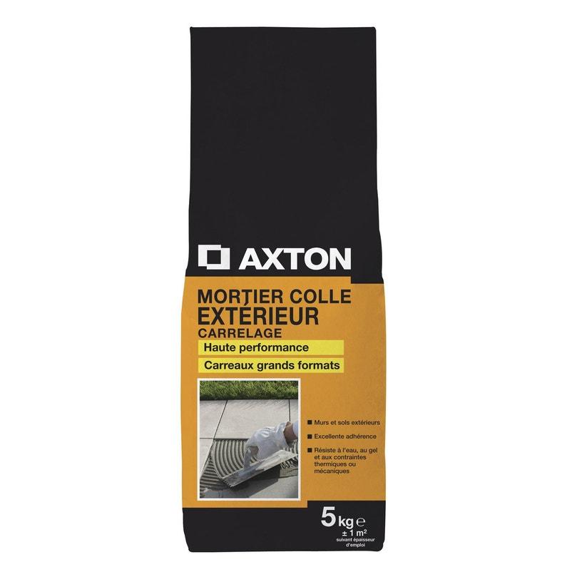 Mortier Colle Extérieur Gris Axton 5kg