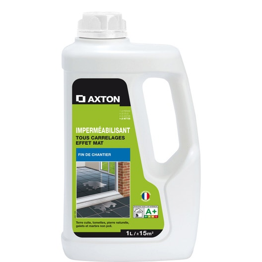 impermabilisant hydrofuge tous supports axton 1l
