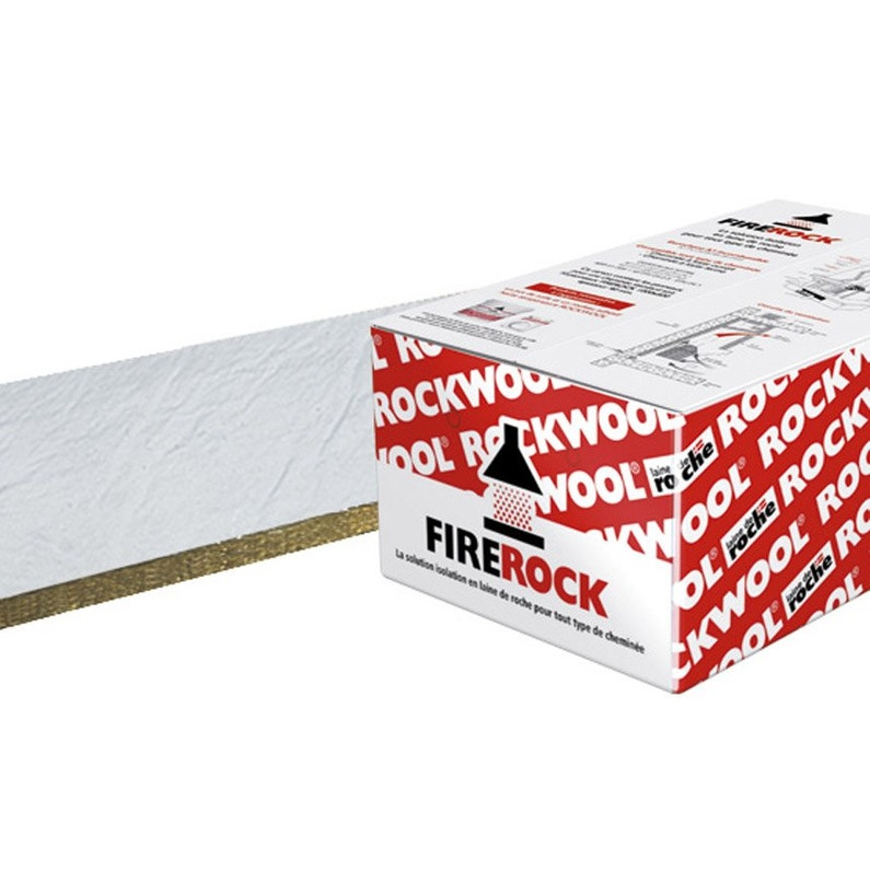 10 Panneaux En Laine De Roche Firerock Rockwool 1x0 6m Ep 30mm R 0 75