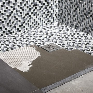 Pose receveur de douche a carreler maison design mail for Pose d un receveur de douche a carreler