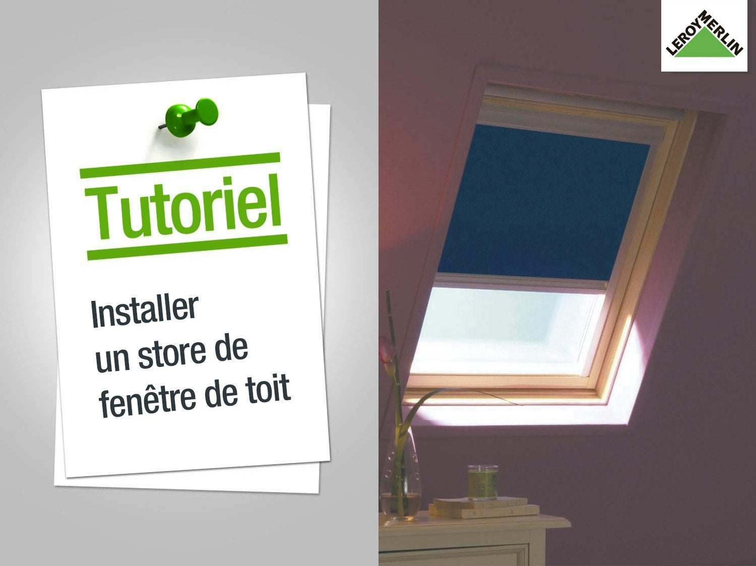 store fen tre de toit occultant t l commande solaire beige velux dsl s06 leroy merlin. Black Bedroom Furniture Sets. Home Design Ideas