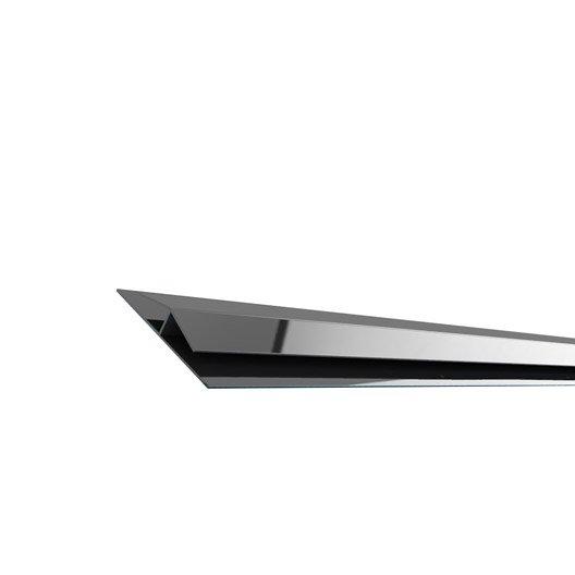 Profil de toiture Joncsf3a anthracite pvc L.3 m | Leroy Merlin