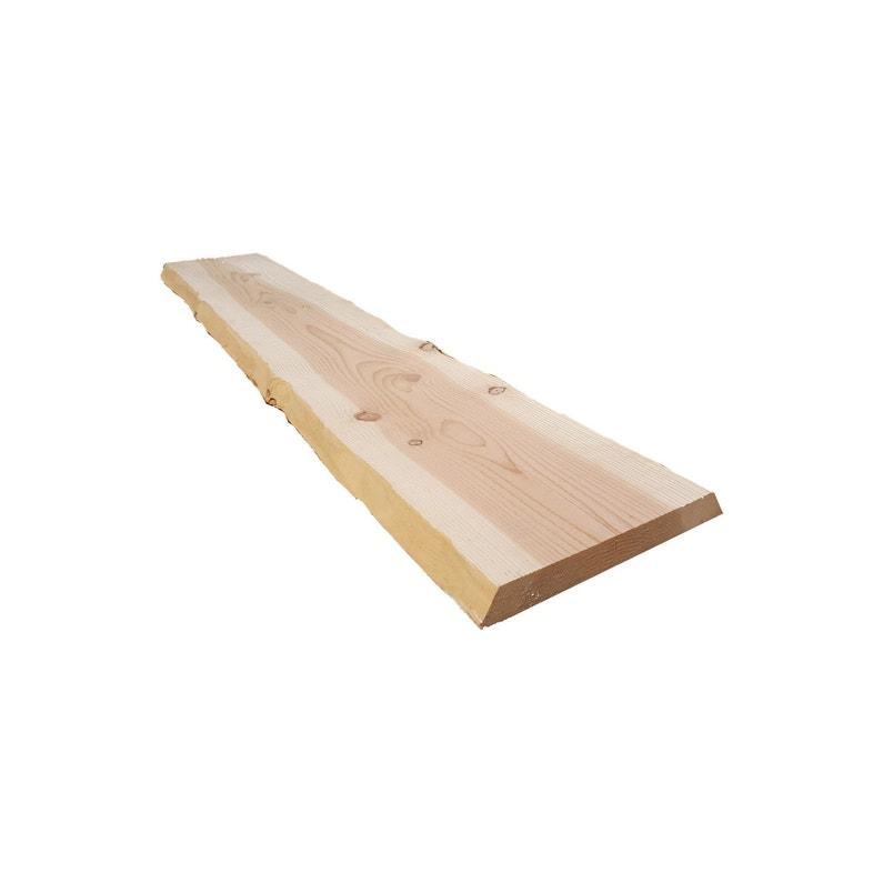 Planche Non Traité Sapin L200 X L40 X Ep5 Cm