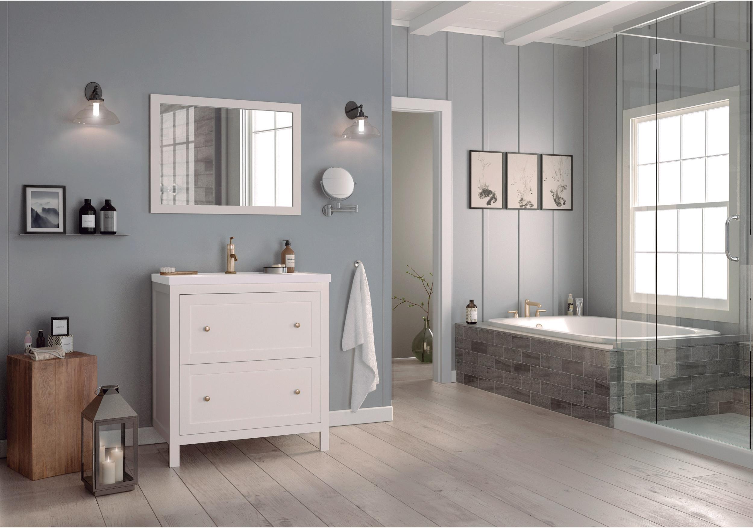 Meuble de salle de bains, Charm