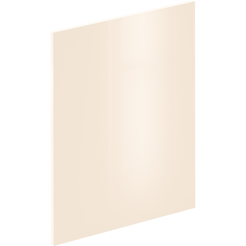 Porte-joue Sevilla ivoire brillant, DELINIA ID H.76.5 x l.59.7 cm
