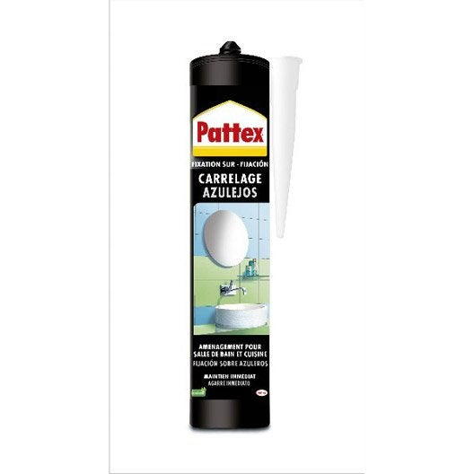 Colle mastic carrelages pattex 450 g leroy merlin - Temps sechage colle carrelage ...