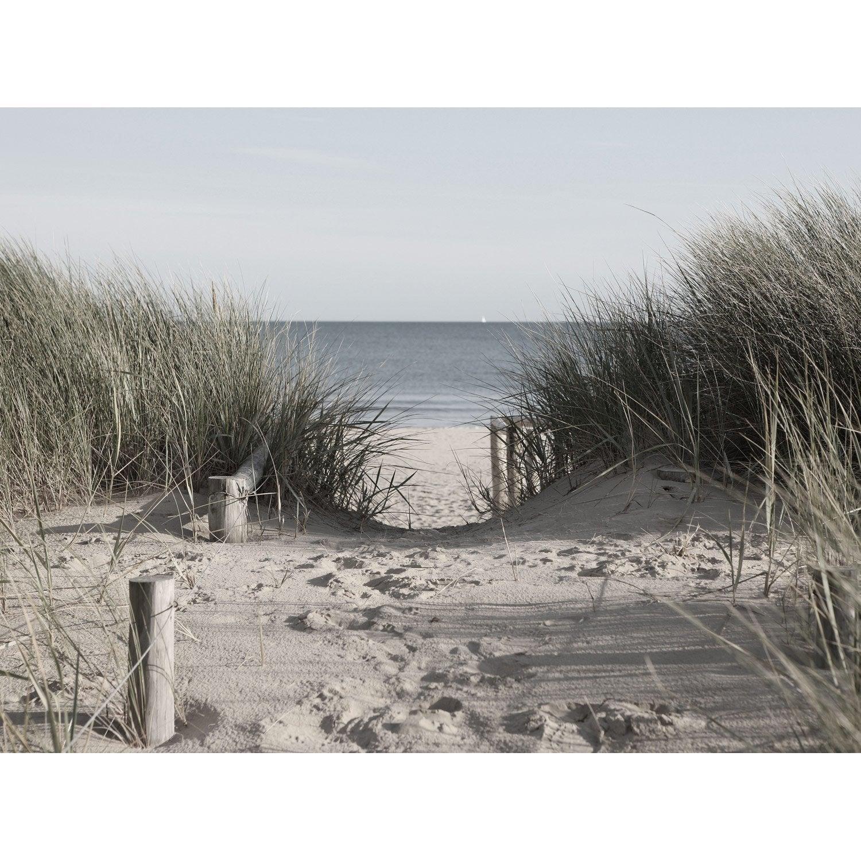 Set de 4 images Cabanes dune ponton l.30 x H.40 cm