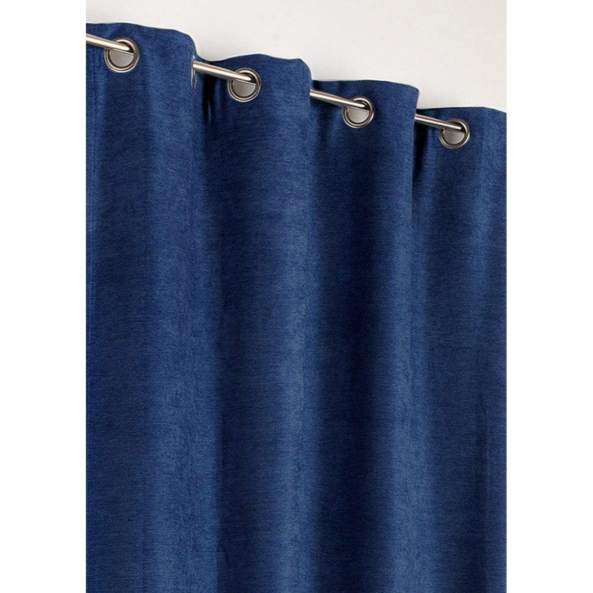 rideau occultant alaska bleu roi x cm. Black Bedroom Furniture Sets. Home Design Ideas