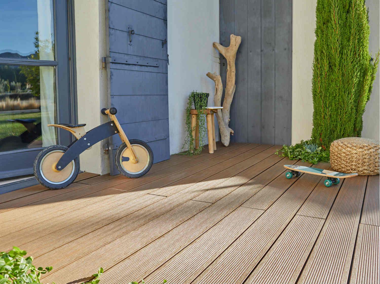 Terrasse et sol extérieur - Jardin | Leroy Merlin - Quel Bois Pour Terrasse