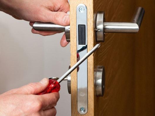 S curit serrure et coffre fort leroy merlin - Comment reboucher une porte ...