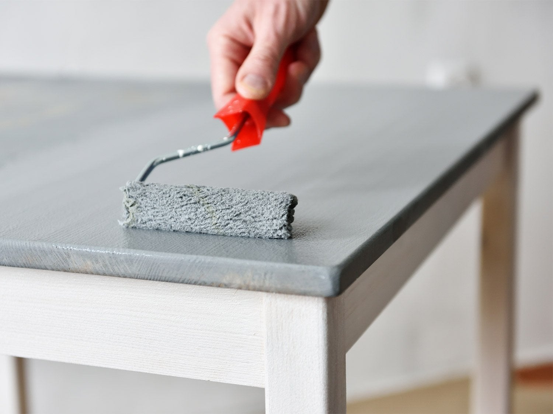 Comment peindre un meuble en m lamin ou stratifi leroy merlin for Peindre sur du melamine