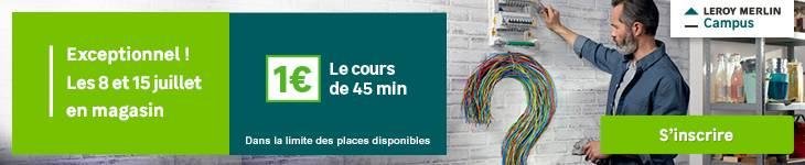 Trafic journées Campus - 1€ le cours de 45min