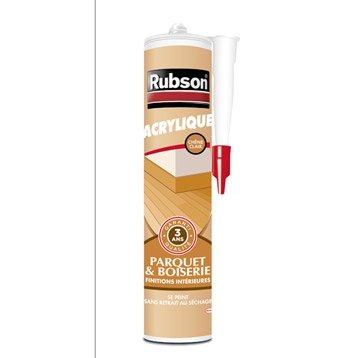 Mastic d'étanchéité RUBSON mur intérieur Finition 280 ml chêne clair