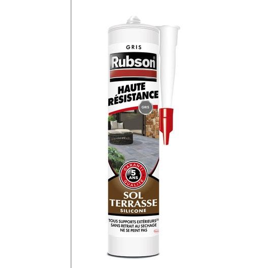 mastic dtanchit rubson sol terrasse haute rsistance 280 ml gris