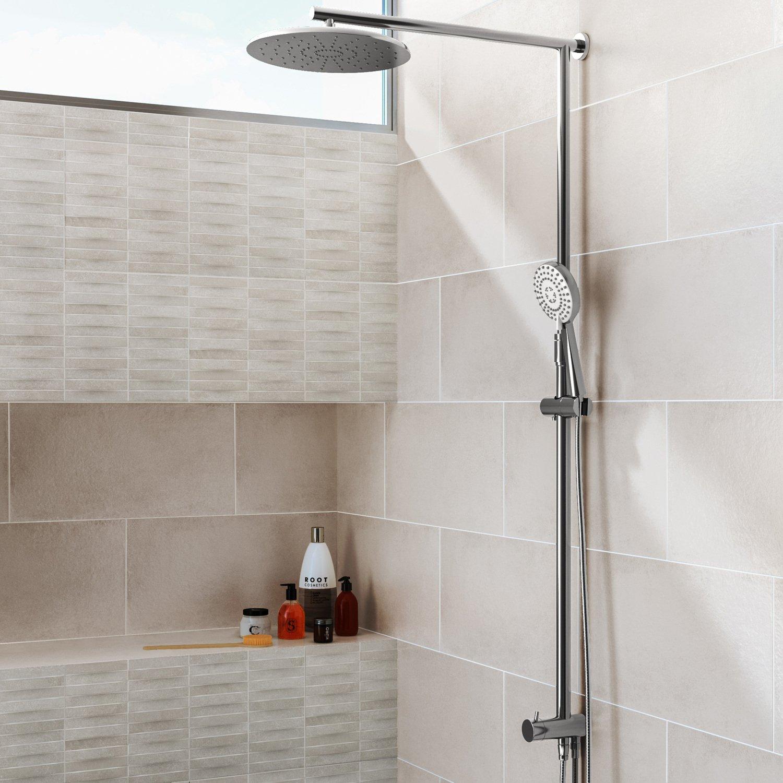 une douche authentique leroy merlin. Black Bedroom Furniture Sets. Home Design Ideas