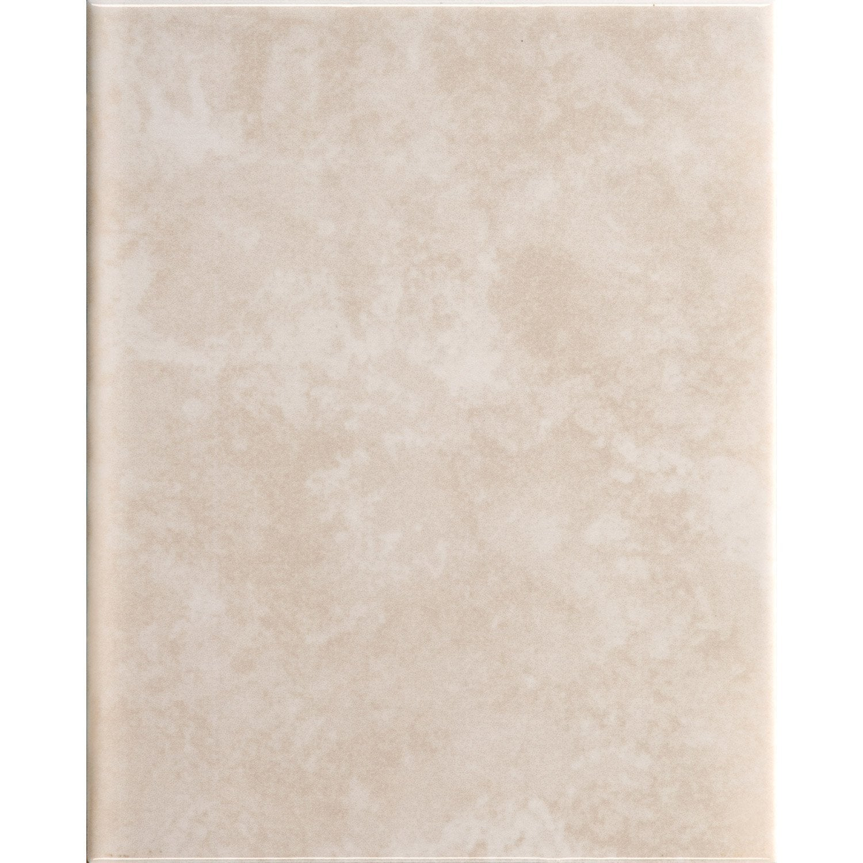 Faïence mur marbre beige brillant l.20 x L.25 cm, Toscana