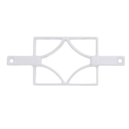 D cor pour chelle kital aluminium blanc x cm - Echelle decorative pour plantes ...