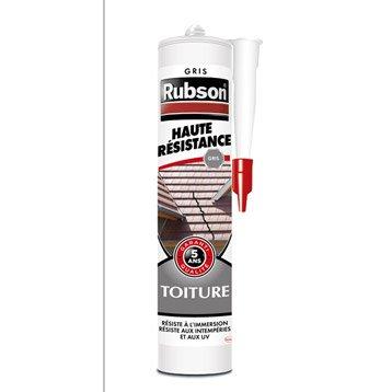Mastic d'étanchéité RUBSON toiture Haute résistance 280 ml gris