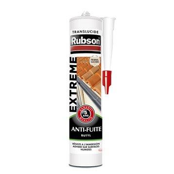 Mastic d'étanchéité RUBSON antifuite Extrême 280 ml translucide