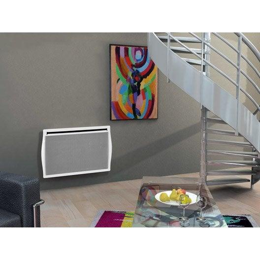 radiateur lectrique rayonnement concorde silhouette 2 2000 w leroy merlin. Black Bedroom Furniture Sets. Home Design Ideas