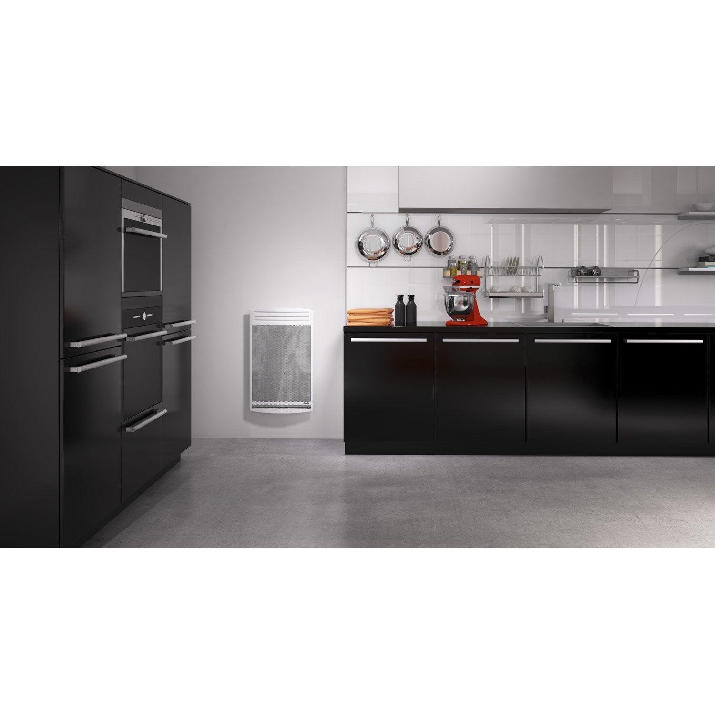 radiateur lectrique rayonnement sauter olivine 1500 w leroy merlin. Black Bedroom Furniture Sets. Home Design Ideas