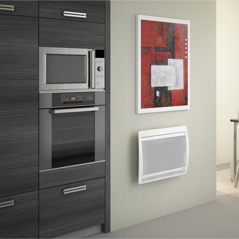 radiateur lectrique rayonnement sauter olivine 1000 w leroy merlin. Black Bedroom Furniture Sets. Home Design Ideas