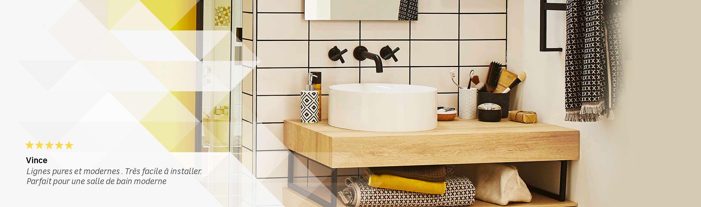 eclairage miroir salle de bain lapeyre Meuble de salle de bains