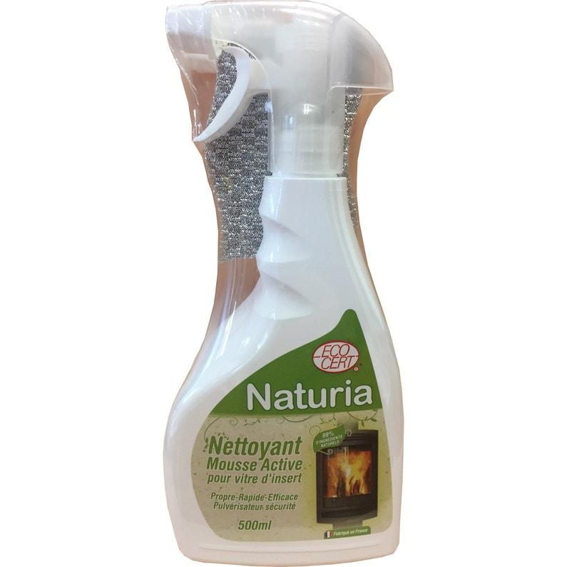 Nettoyant Vitre Naturia 500 Ml X 2 éponge
