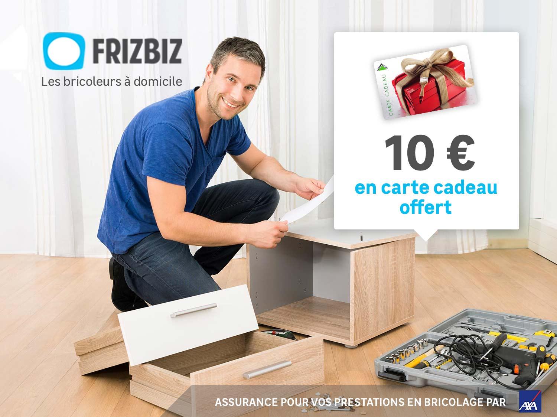 Estimez et faites monter vos meubles par les bricoleurs Frizbiz