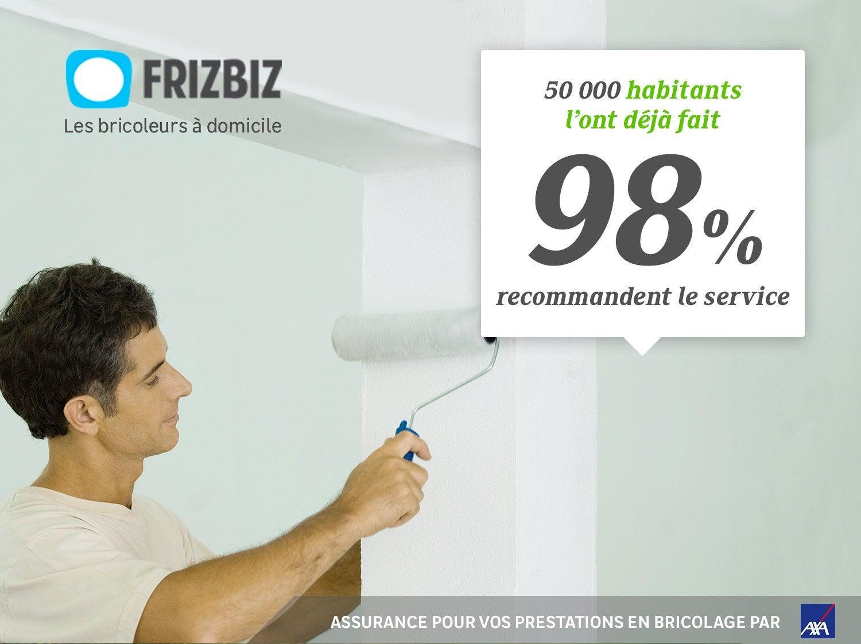 Estimez et faites peindre votre intérieur par les bricoleurs Frizbiz