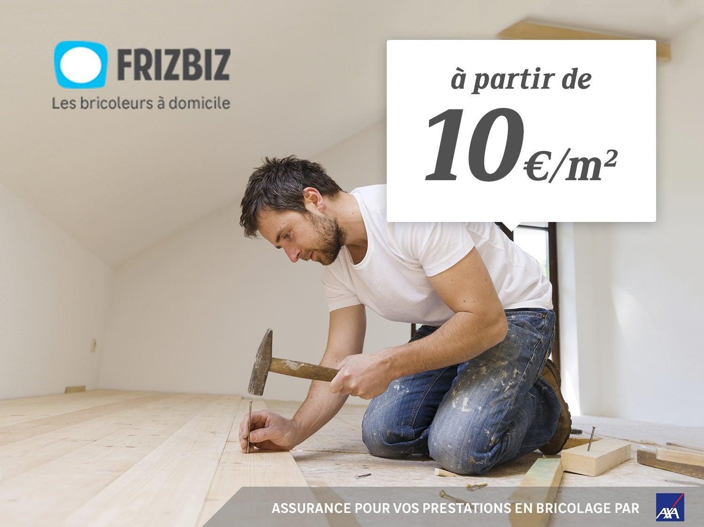 Faites poser votre sol par les bricoleurs Frizbiz