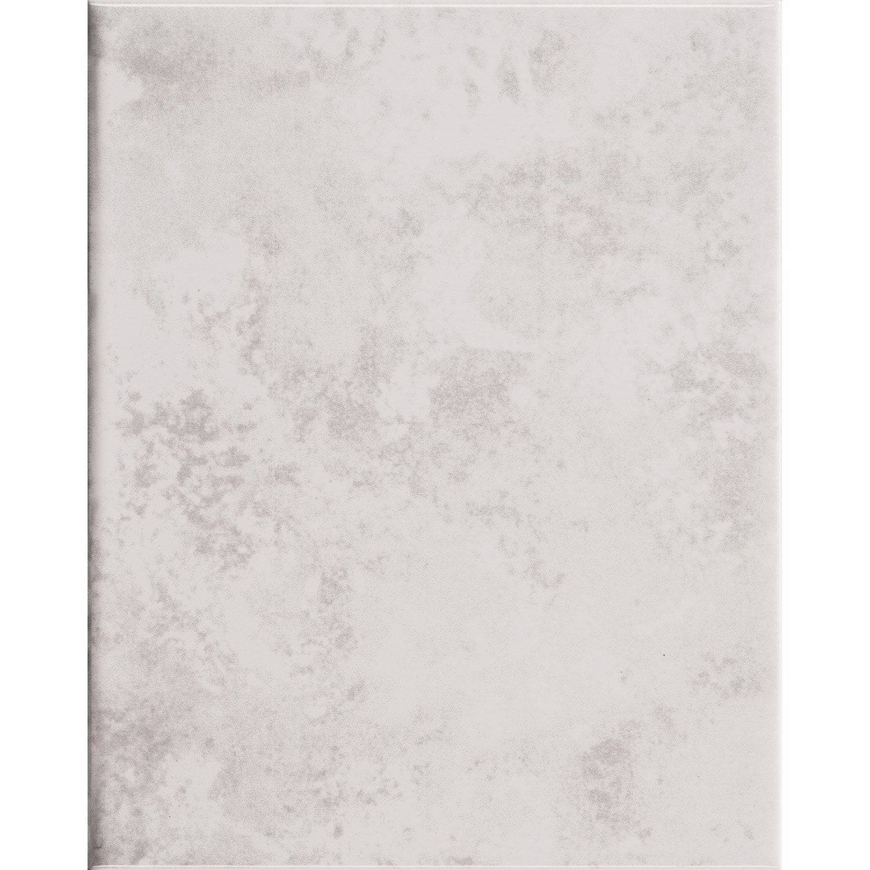 Faïence mur medio marbre blanc brillant l.20 x L.25 cm, Primo