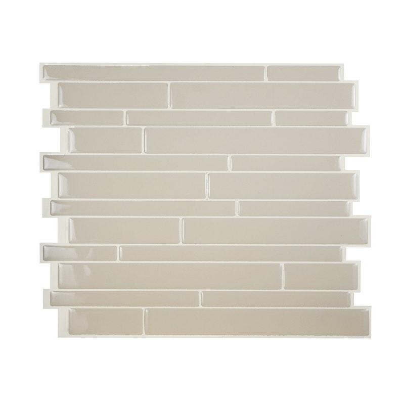 Revêtement Adhésif Smart Tiles Milano 2934x2446 Cm X1 Beige