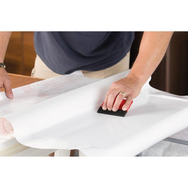 Revetement Adhesif Uni Laque Blanc 2 M X 0 67 M Leroy Merlin