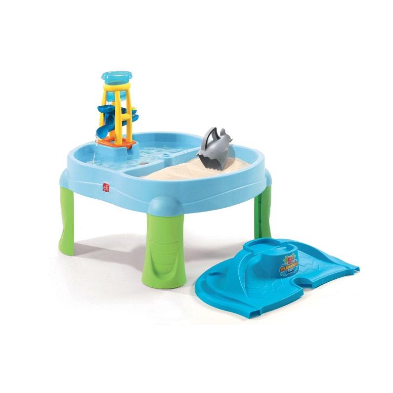 Table Sable Et Eau Plastique Splash Scoop Bay Step 2 L72 X L79 Cm