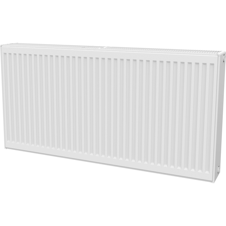 radiateur chauffage central panneau horizontal blanc l 120 cm 2945 w leroy merlin
