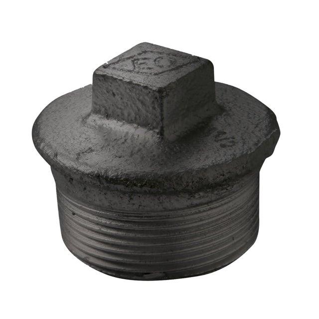 Bouchon à Serrer Fonte M 20 X 27 Pour Tube En Acier Galvanisé