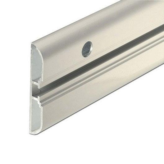 rail aluminium anodis l 1 m x l 6 cm leroy merlin. Black Bedroom Furniture Sets. Home Design Ideas
