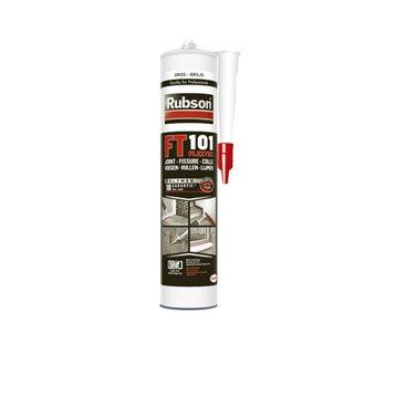 Mastic d'étanchéité RUBSON toute destination qualité pro Ft101 280 ml gris