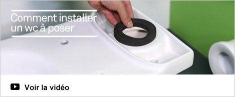 HOP - comment installer un wc à poser?