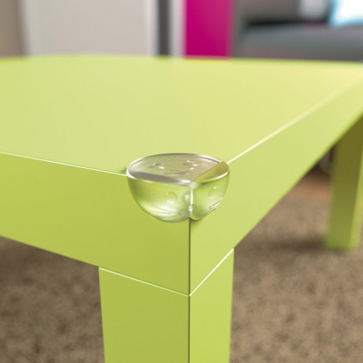 lot de 4 protections d angle transparent standers leroy. Black Bedroom Furniture Sets. Home Design Ideas